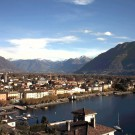 Ascona webcam with view to the Lake Maggiore