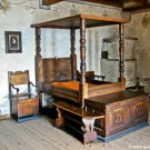 Chillon Castle bedroom