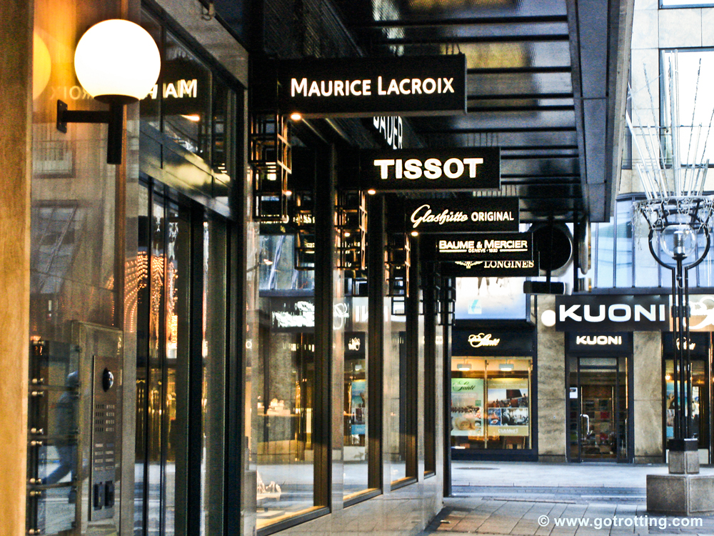 City shopping in Geneva post image
