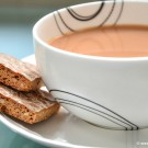 Enjoy Basel's delicious Laeckerli biscuits with a nice cup of tea