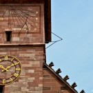Basel Muenster Clocks