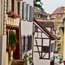 Street in the old town of Basel