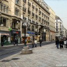 Shopping in Geneva's Rue-de-Rive Street
