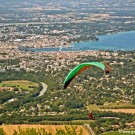 Paragliding at Le Saleve