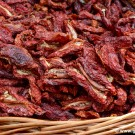 Sundried tomatoes at a local open market