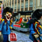 Waggis at the Fasnacht of Basel