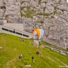 Paragliding at Mount Pilatus