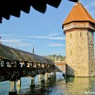 Lucerne Chapel Bridge and Water Tower