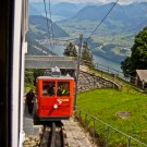 Pilatus Cogwheel Train