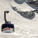 The Titlis Rotair cable car