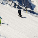 Skiing and Snowboarding on Mount Titlis