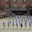 Ailsa Craig Highland Dancers performing at Basel Tattoo