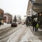 The main street of Davos