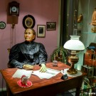 Wax figure of Margarete Steiff at the Toy Worlds Museum in Basel