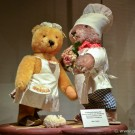 Teddy bears at the Toy Worlds Museum in Basel